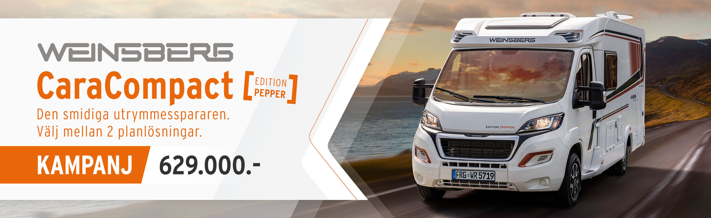 Weinsberg CaraCompact Edition Pepper